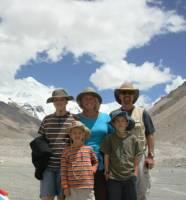 American Travelers travel to Tibet-Family Adventure in Tibet Mt Everest Base Camp  » Click to zoom ->