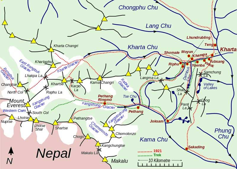 Tibet Kharta Valley Trekking, East Khangsung Face of ...