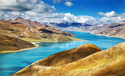 5 Days Tibet Journey to Lhasa and Yamdrok Lake Group Tour