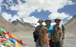 Tibet family Adventure Tour to Mt. Everest 8-10days