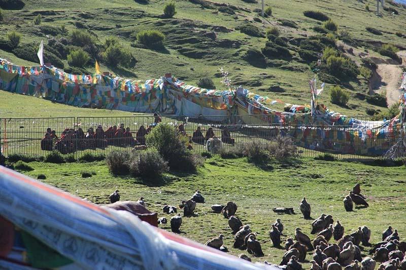buddhist sky burial