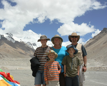 Tibet family adventure travel photo, Family travel picture of Tibet